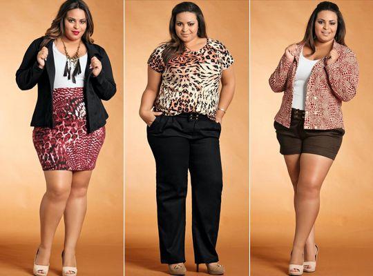 papo serio demulher: Dicas de moda plus size