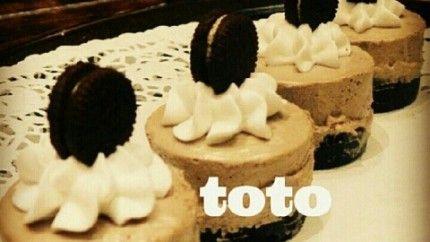 ميني تشيز كيك اﻻوريو Cake Cupcake Cakes Desserts