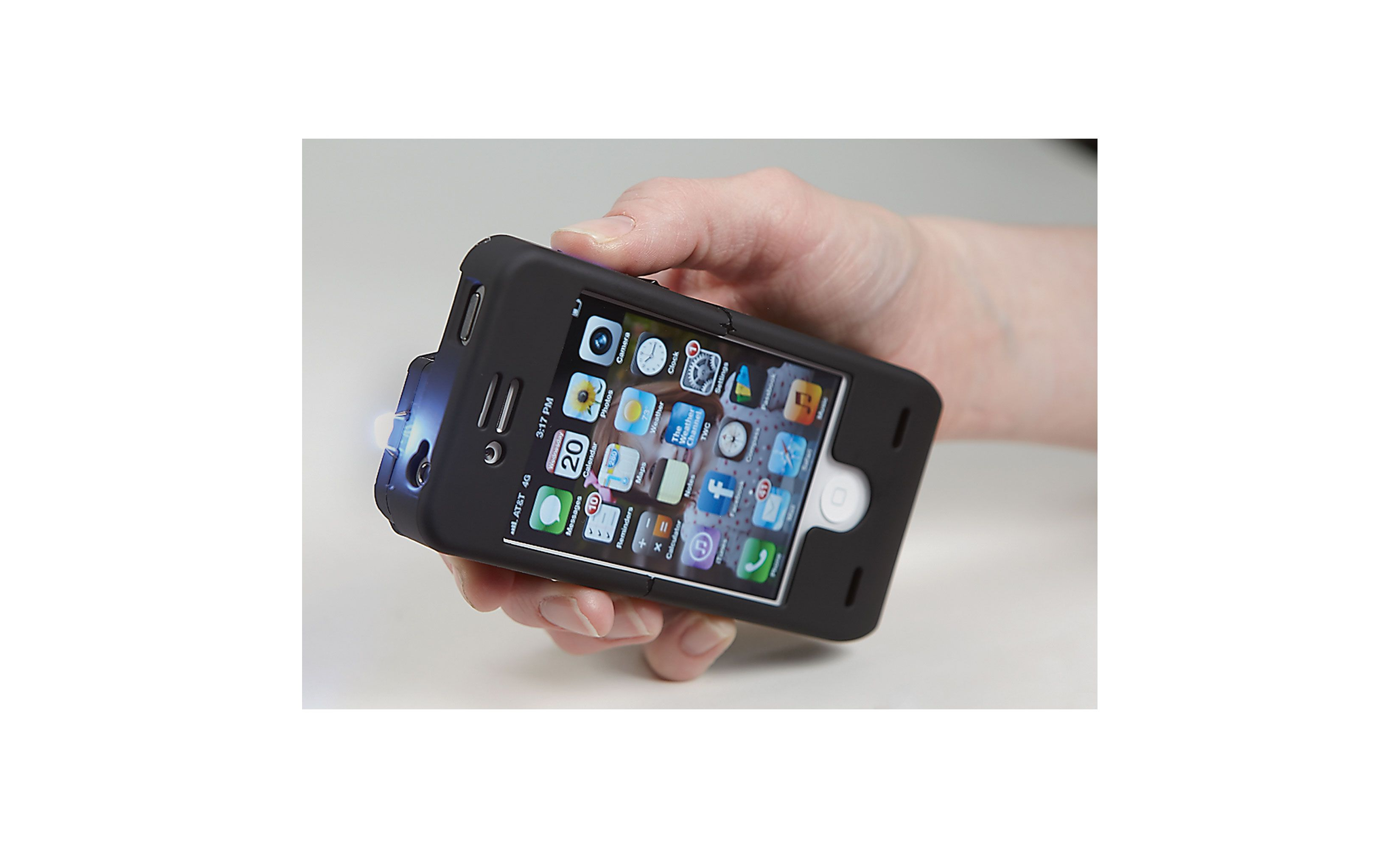 iPhone Stun Gun Case — Protect Your Phone, and Yourself | www.kotulas.com | Free Shipping