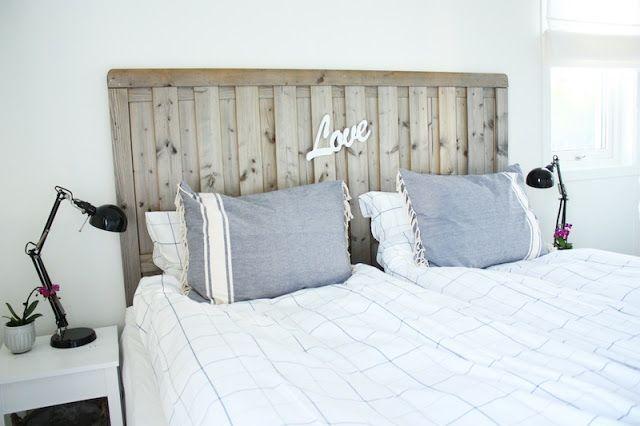 La sencillez de un dormitorio blanco y madera deco - Dormitorios en blanco y madera ...
