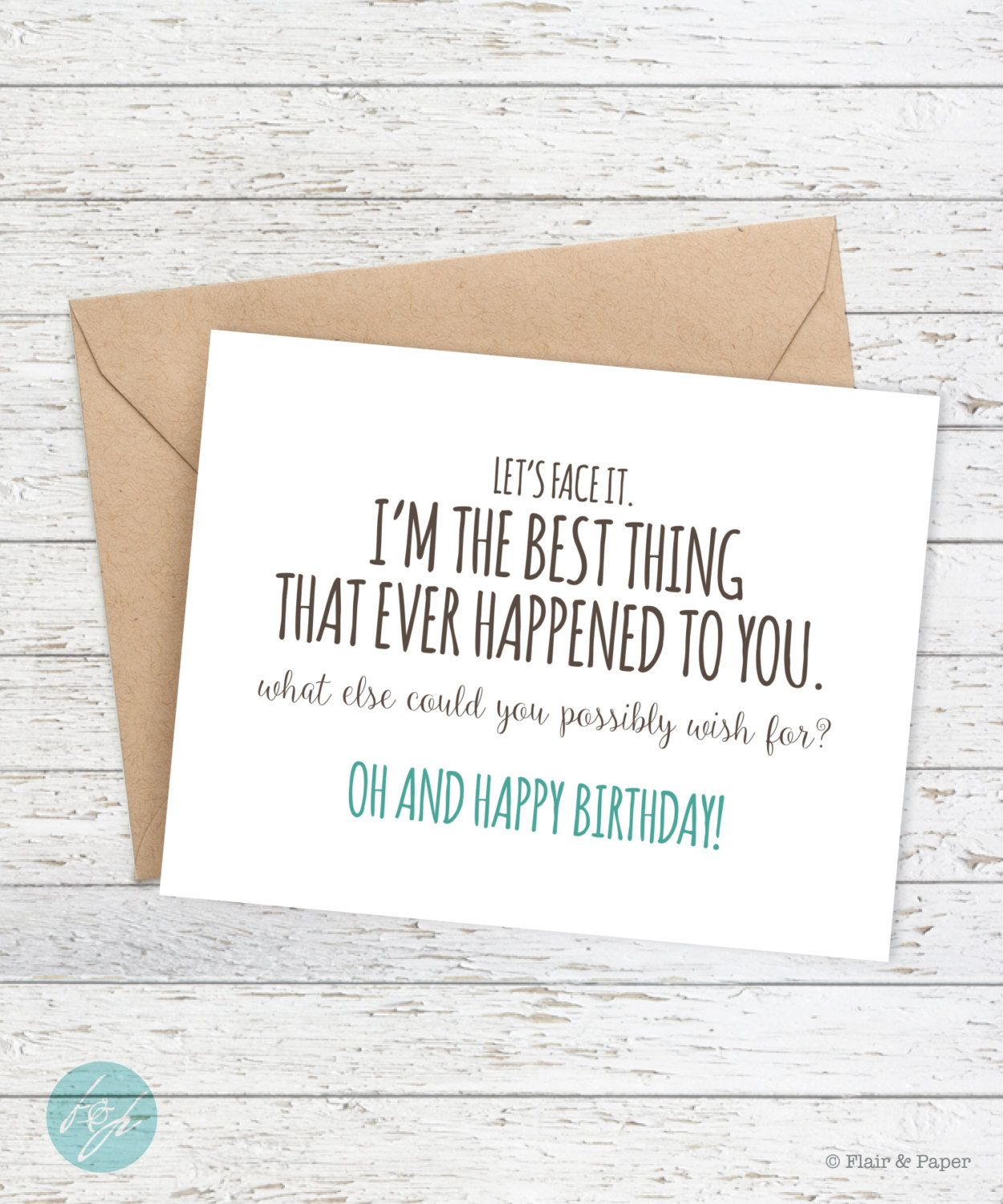 Funny Birthday Card Boyfriend Birthday Funny Card Lets face – M and S Birthday Cards