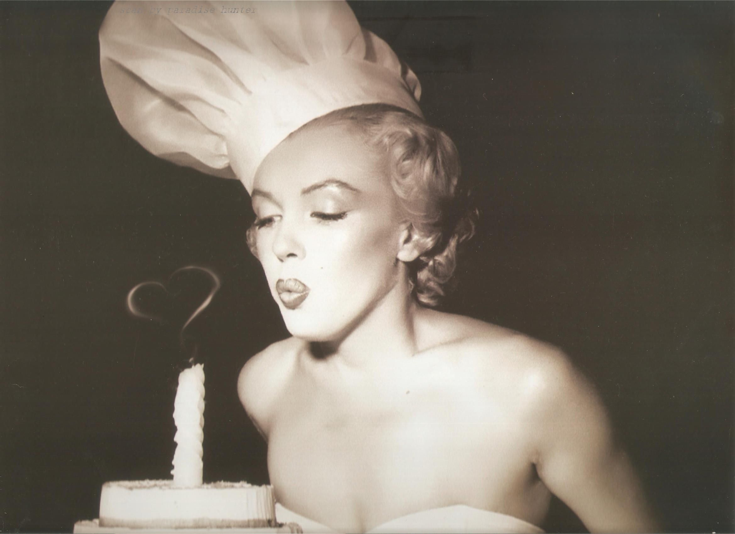 You are our lovely Marilyn. Happy Birthday !