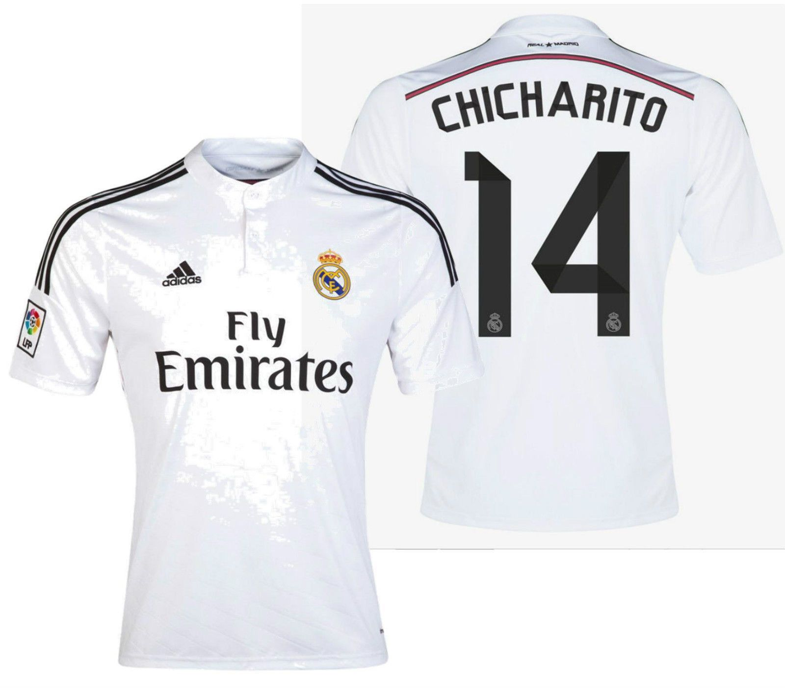 sports shoes c3d91 0d721 ADIDAS CHICHARITO REAL MADRID HOME JERSEY 2014/15 ...