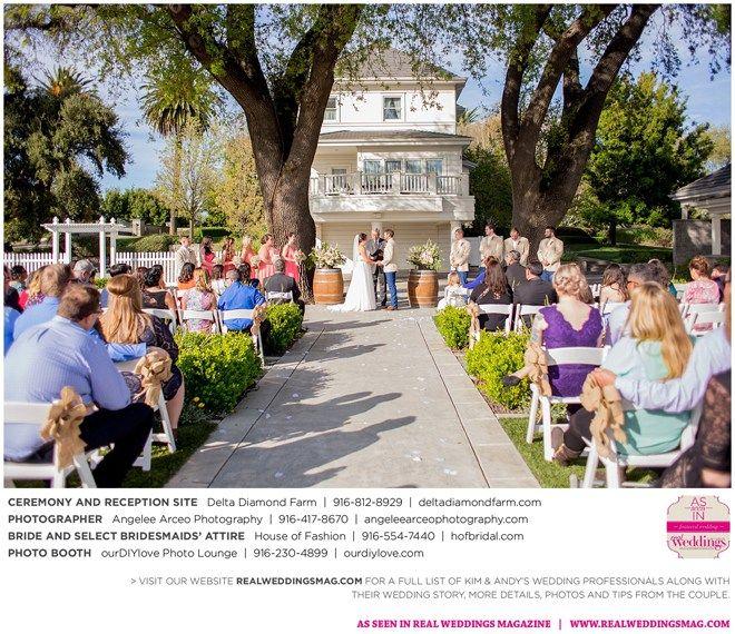 Isleton Wedding Inspiration: Kimberly & Andrew {From The