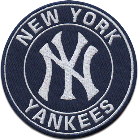 New York Yankees Sports Logo Patch Patches Collect Collection Sports Emblem Insignia Baseball Em Mlb Logos New York Yankees Yankees Baseball