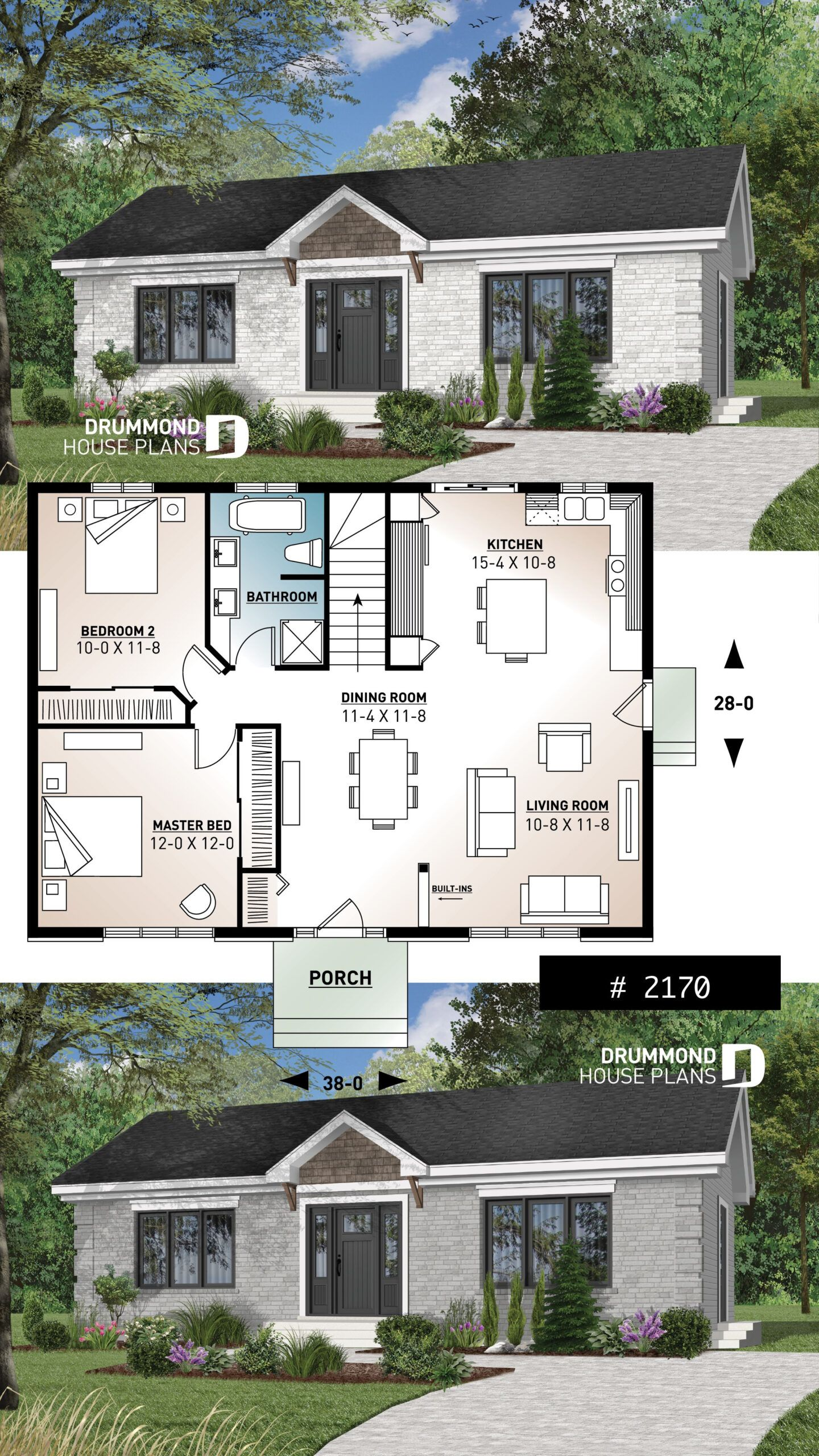 Small Daylight Basement House Plans In 2020 Sims House Plans Basement House Plans Bungalow House Plans