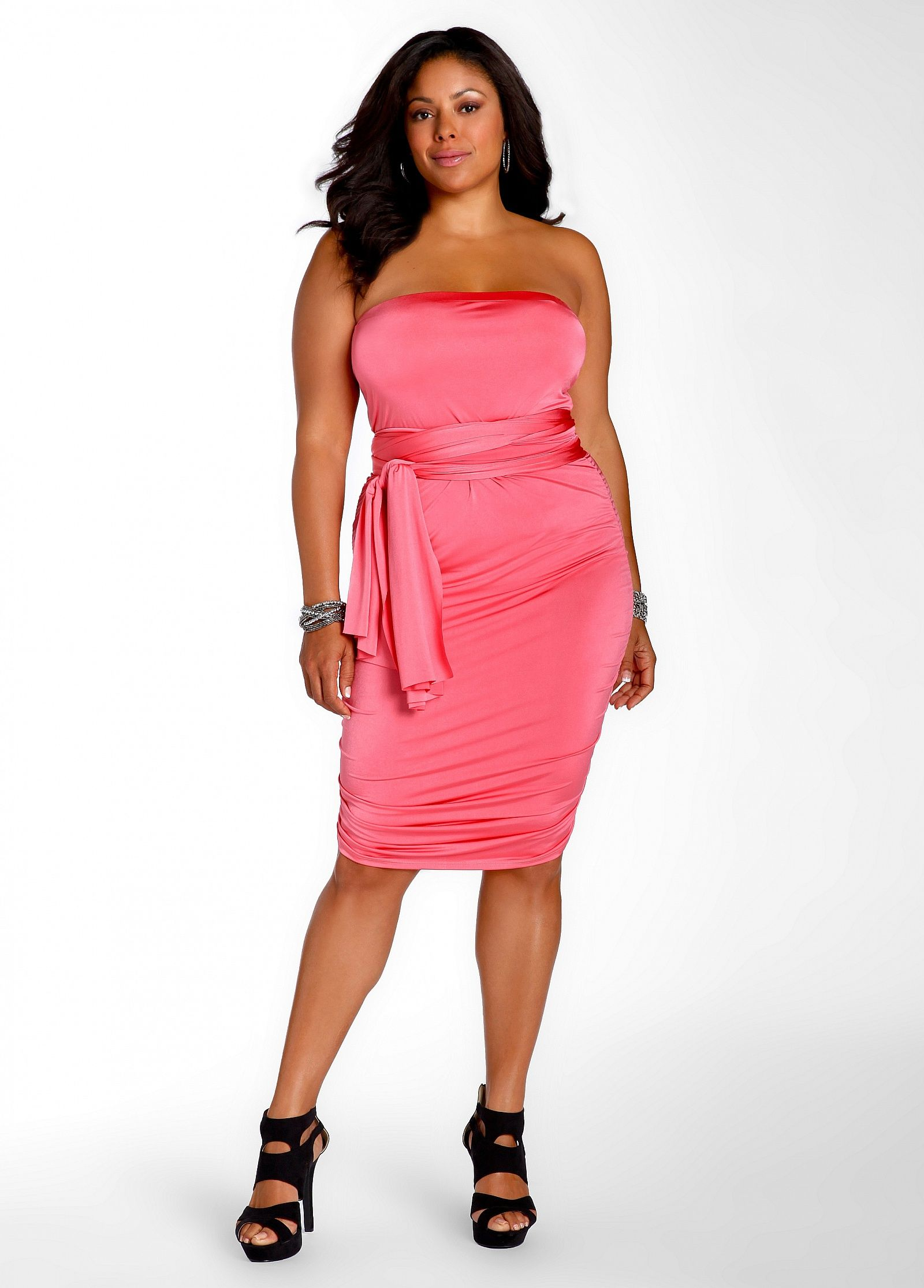 e99ee1e67c4 Ashley Stewart  Web Exclusive 10 Way Shirred Dress - genius!