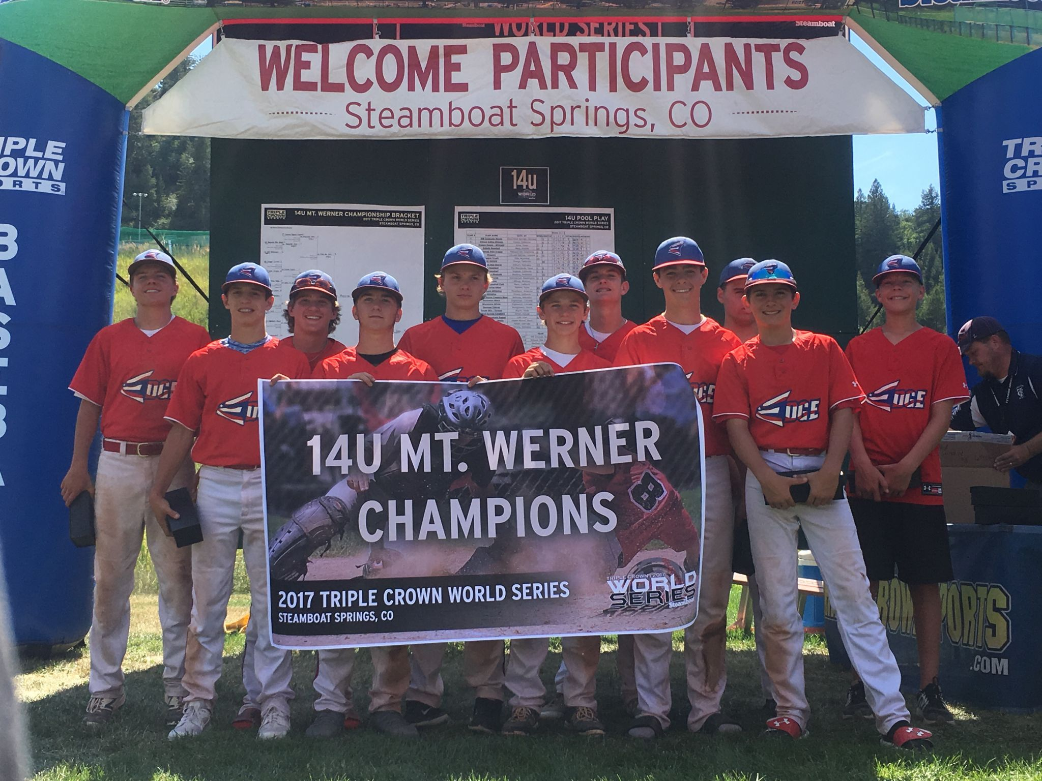Midland S 14 Under West Texas Edge Baseball Team Won The Triple Crown World Series Over The Weekend Youth Sports Augusta National Golf Club Triple Crown