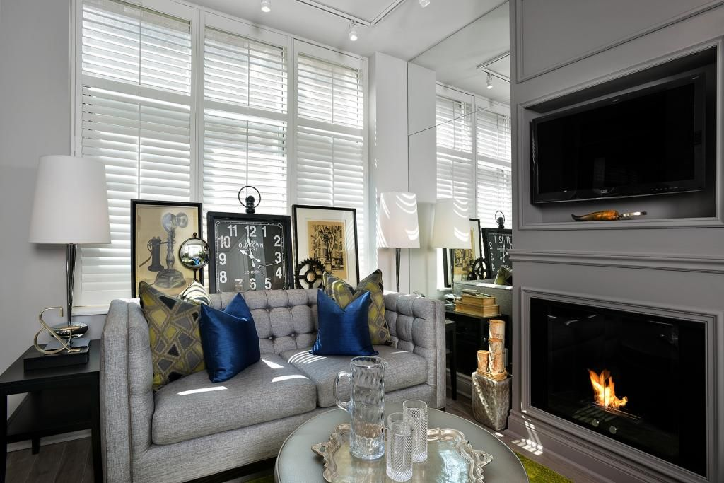 Living Room Space Designed By Glen U0026 Jamie From Peloso Alexander Interiors.  #GlenandJamie #