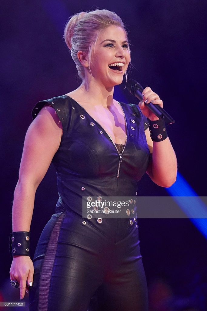 Beatrice Egli Is Seen On Stage At The Das Grosse Fest Der Besten