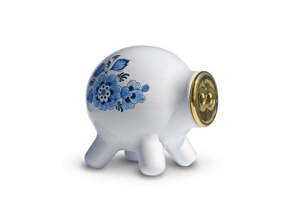 Moneypig piggy bank, dutch design