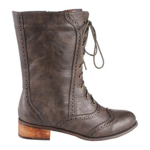 @Overstock - The Break 3 is a beautiful mid calf combat boot, featuring a oxford toe box.http://www.overstock.com/Clothing-Shoes/Womens-Westbuitti-Break-3-Brown/7441750/product.html?CID=214117 $45.95