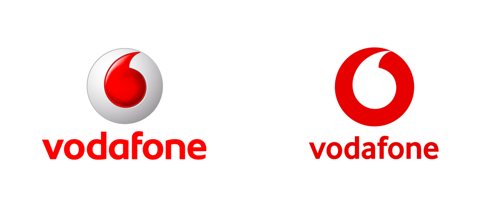Reviewed New Logo For Vodafone By Brand Union Logos Vodafone Logo Vodafone