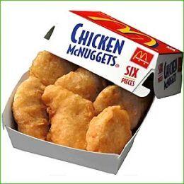 Mc Donald's Chicken Mc Nuggets