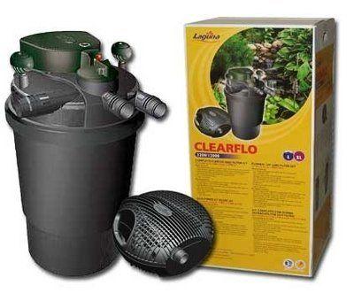Laguna ClearFlo Filter & Max-Flo Pump COMBO (FREE SHIPPING), ClearFlo 3200 kit w/optional 2900 gph pump . $674.95