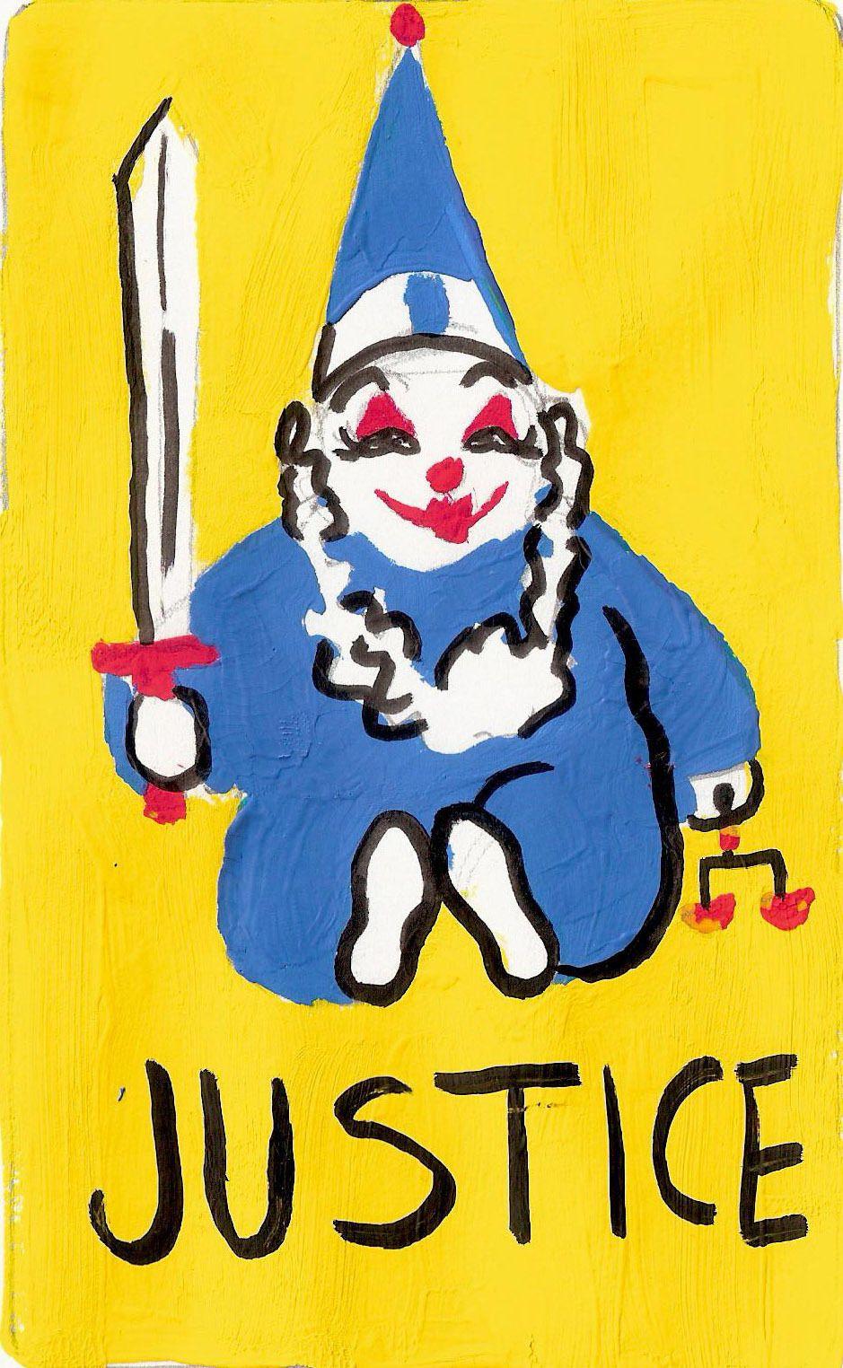 clown tarot | Cute clown, Clown, Art