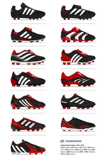newest 7f129 76da9 Here is The Full History of the Adidas Predator - Footy Headlines