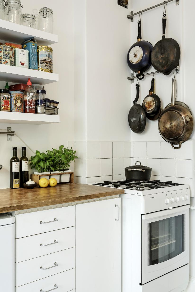 Niedlich Kleine Wohnung Küche Lagerung Ideen - Ideen Für Die Küche ...