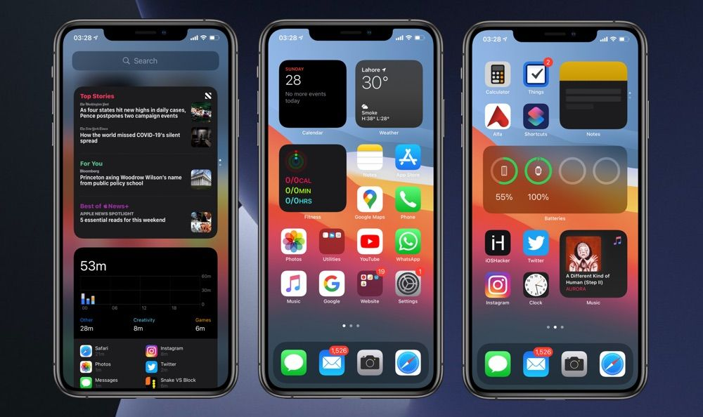 How To Add, Remove Or Stack Widgets To iPhone Home Screen - iOS Hacker