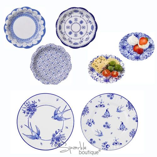 LUXURY PAPER PLATES - Shabby Chic / Vintage Style for Afternoon Tea or Hen Party  sc 1 st  Pinterest & LUXURY PAPER PLATES - Shabby Chic / Vintage Style for Afternoon Tea ...