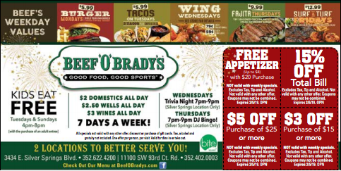 Beef O Brady S Beef Food Coupon Beef Burger