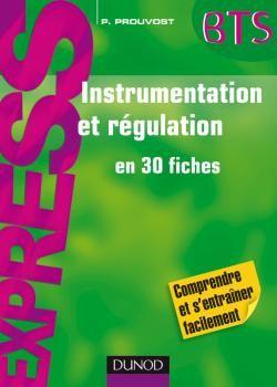 Instrumentation Et Regulation En 30 Fiches En Pdf Cours D Electromecanique Data Science Ebook Biotechnology