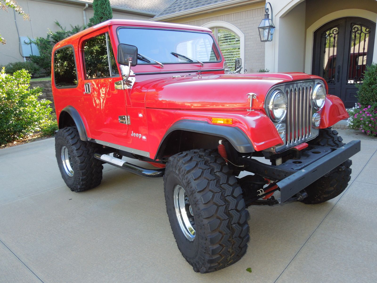 1985 Jeep Cj7 All terrain milti function wheelers