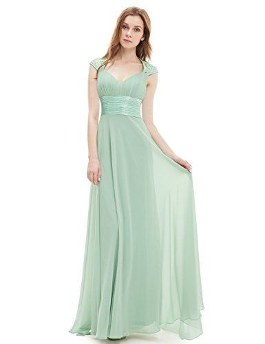 eb41e9f1ed7 Ever Pretty Womens Sleeveless Open Back Sweetheart Evening Dress 8 US Mint  Green