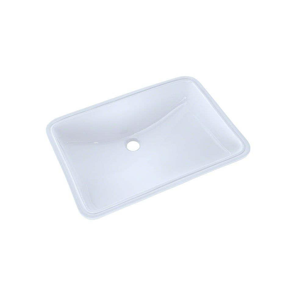 Toto 21 1 4 X 14 3 8 Large Rectangular Undermount Bathroom Sink With Cefiontect Cotton White Cotton White In 2020 Undermount Bathroom Sink Sink Bathroom