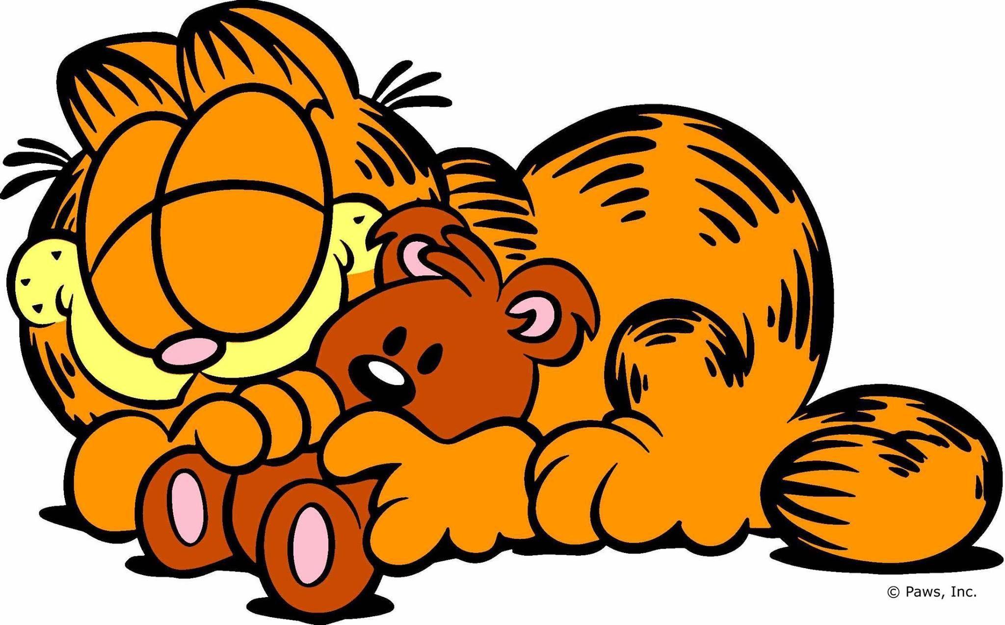 Gambar Garfield Kartun Lucu Dari Kumpulan Gambar Garfield Si Kucing Gemuk Yang Lucu Kucing Gemuk Lucu Gambar