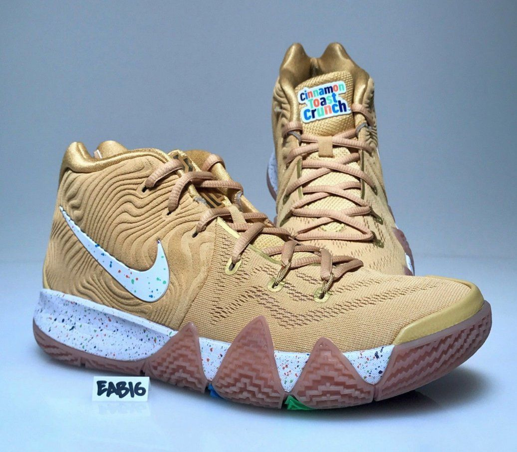 pretty nice d537e 3115f Details about Nike Kyrie Irving 4 IV Lucky Charms Cereal Red ...