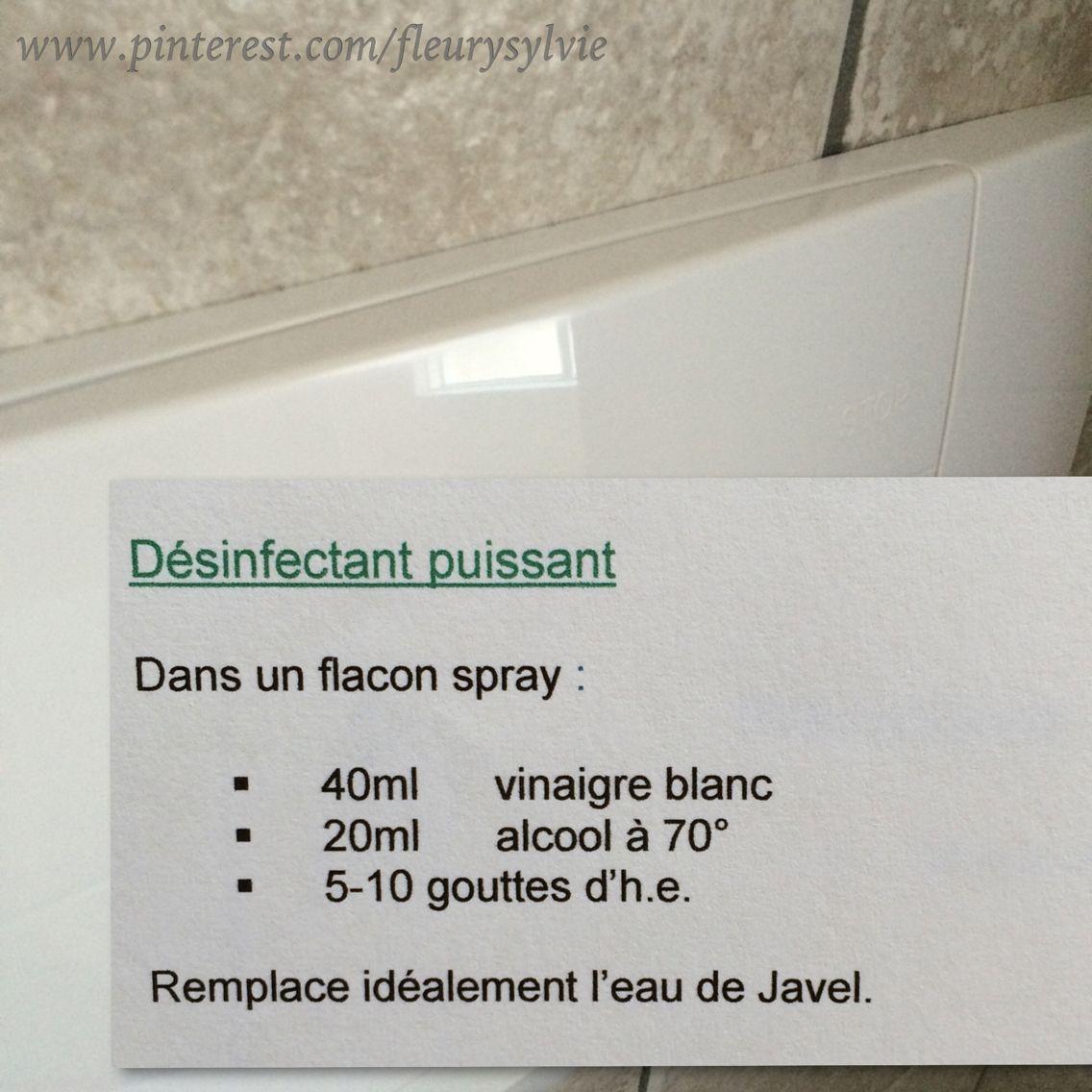 d sinfectant maison dans un flacon spray pour la cuvette des wc etc j 39 ai test a marche. Black Bedroom Furniture Sets. Home Design Ideas