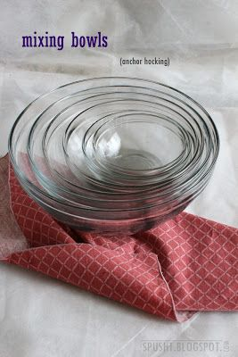 The Giant List Of Great Household Gadgets Mixing Bowls Cooking
