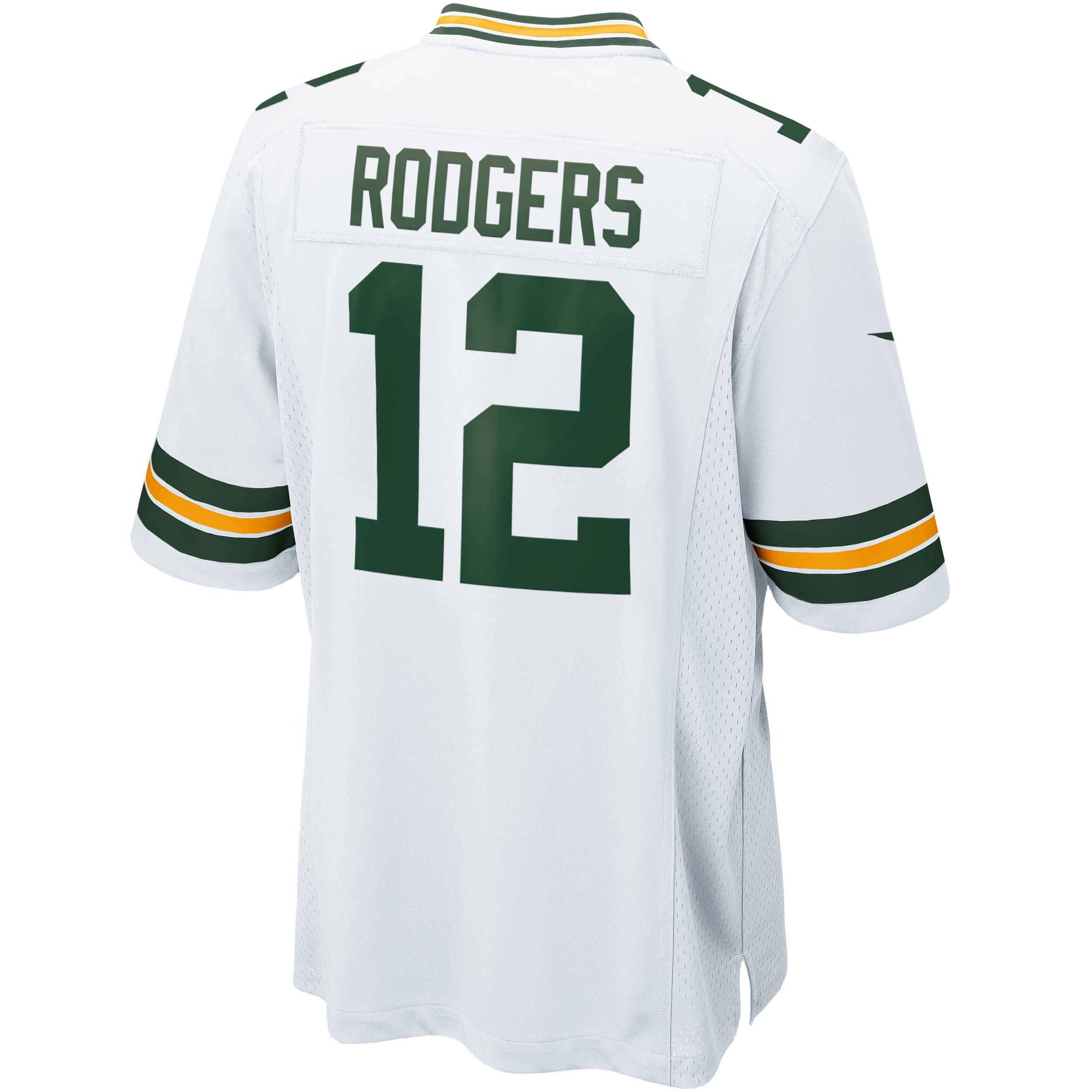 Green Bay Packers 12 Aaron Rodgers Away Game Replica Jersey Green Bay Packers Game Rodgers Green Bay Green Bay Packers