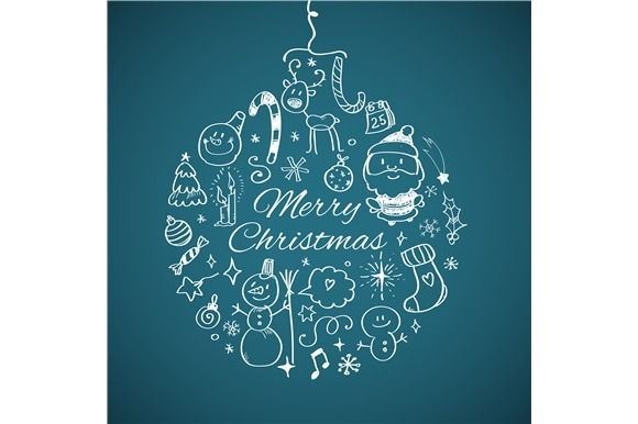 Merry Christmas post card  @creativework247