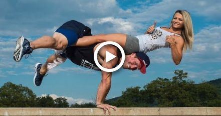 Best Fitness Couple Workout  RelationShip goals  - Working Out Everywhere & Every Time #fitness