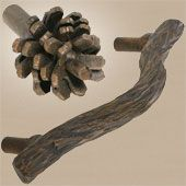 Rustic Cabinet Knobs and Pulls Rustic Cabin Bathroom House