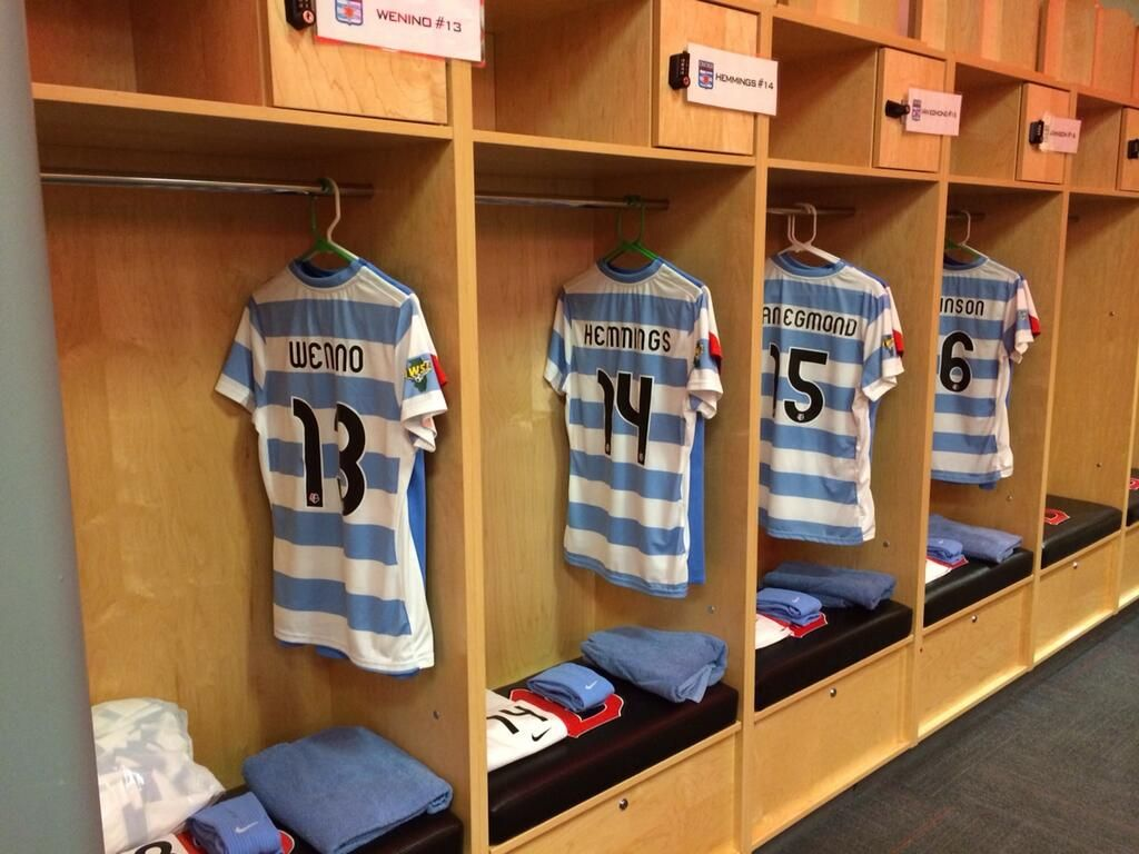 Chicago Red Stars #soccer home locker room | Behind the Scenes ...
