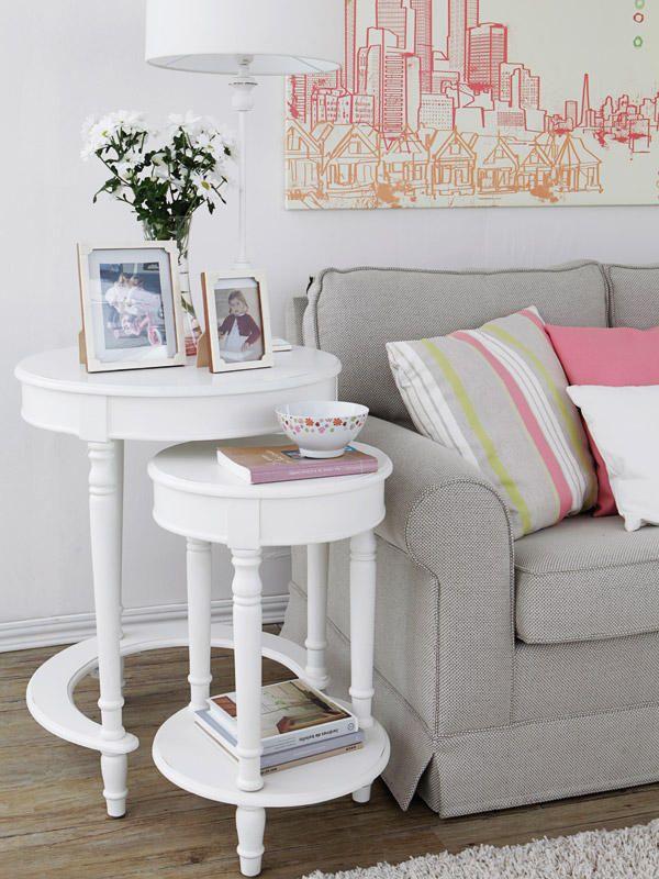 Mesitas para el sof mesitas auxiliares comprar mesa y sof - Mesa auxiliar sofa ...