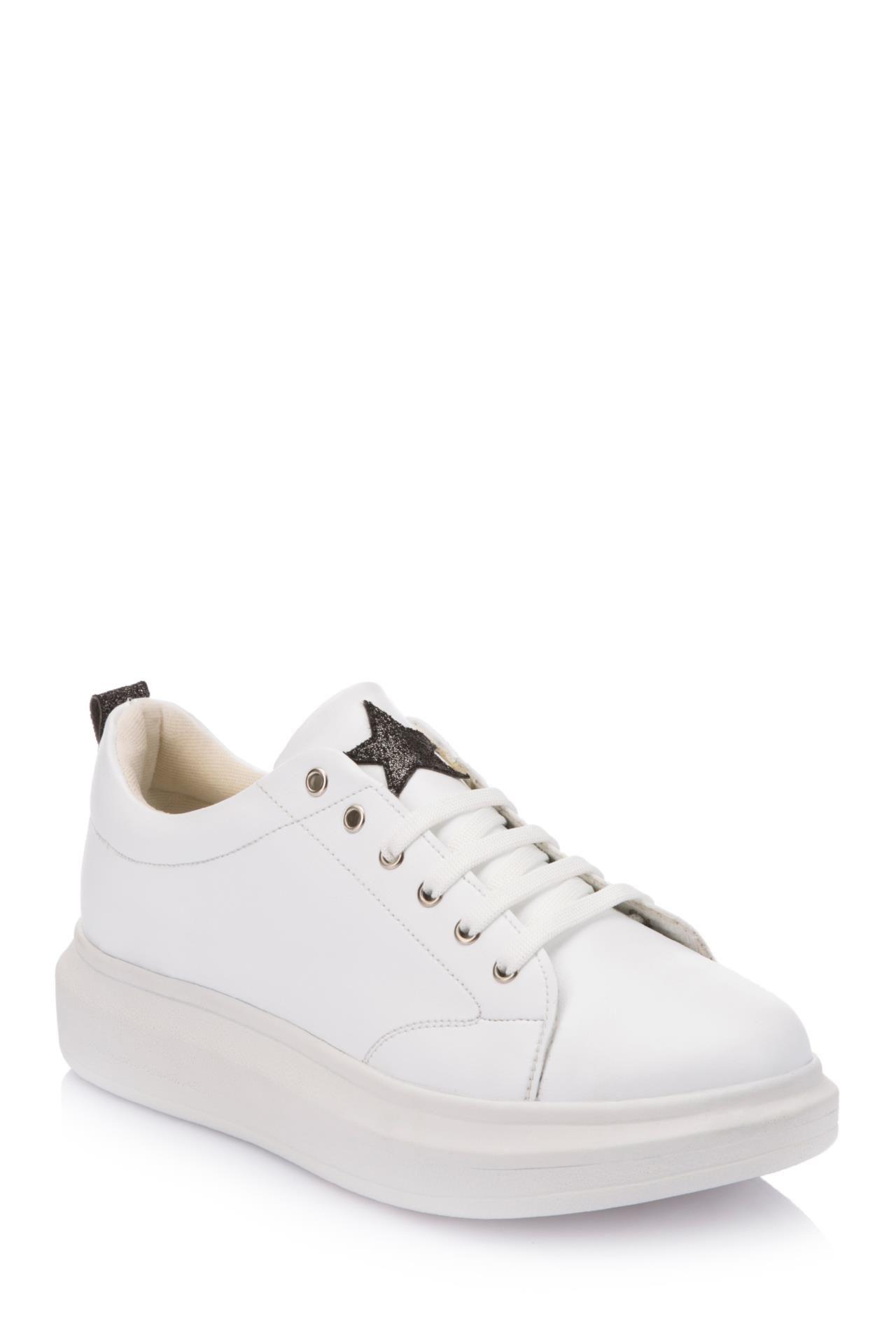 Defacto Marka Yuksek Taban Spor Ayakkabi Yuksek Topuklu Ozelligi Ile Uzun Yuruyuslerinizde Konfor Saglayac Vans Old Skool Sneaker White Sneaker Vans Sneaker