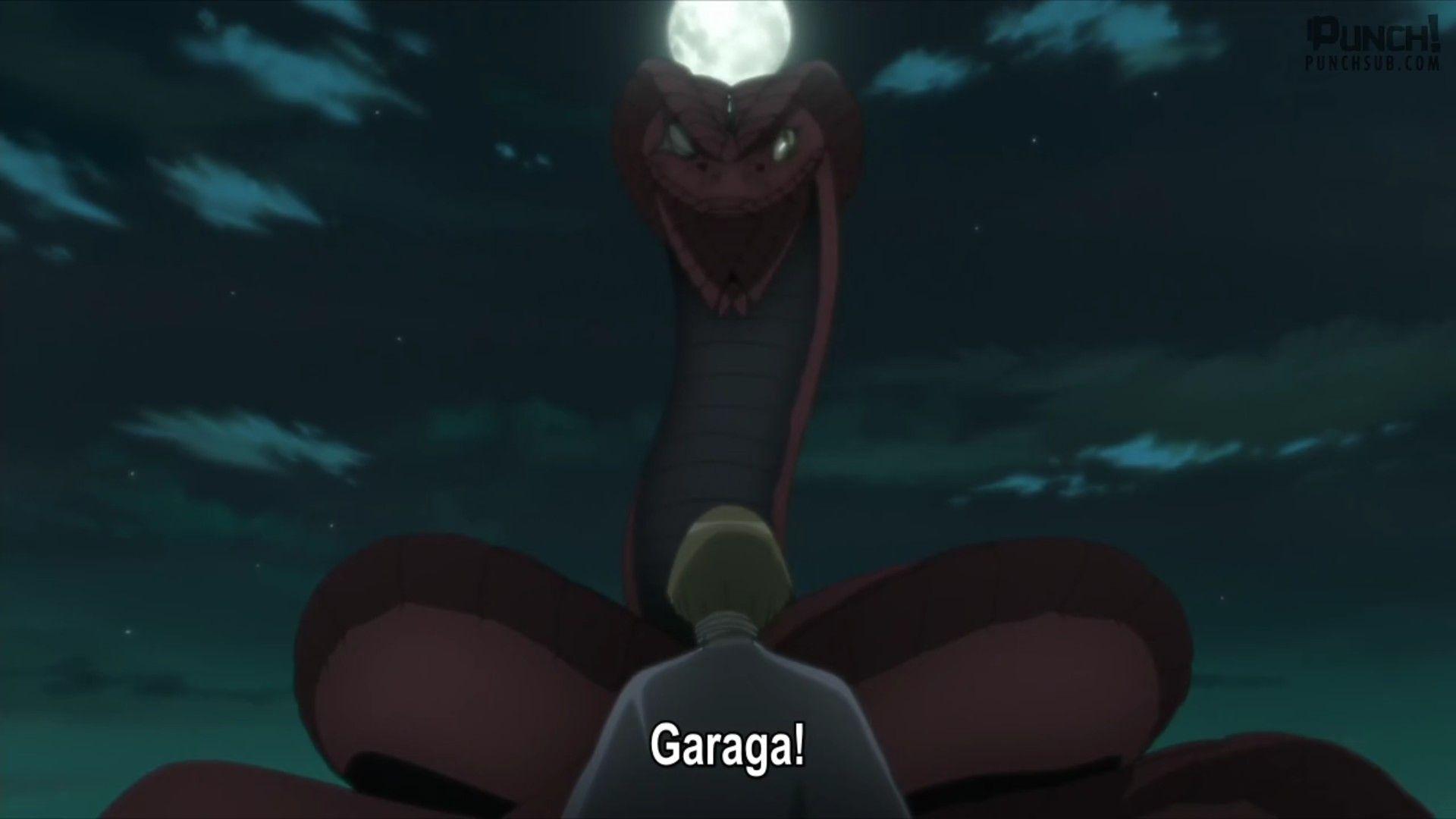 Boruto And Garaga Anime