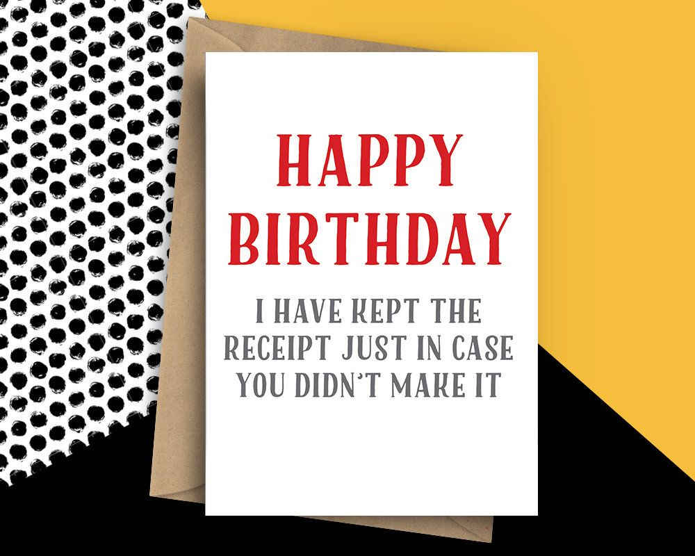 Funny old birthday card rude birthday card kept the receipt funny old birthday card rude birthday card kept the receipt humorous card for him funny happy birthday funny old age birthday card bookmarktalkfo Image collections