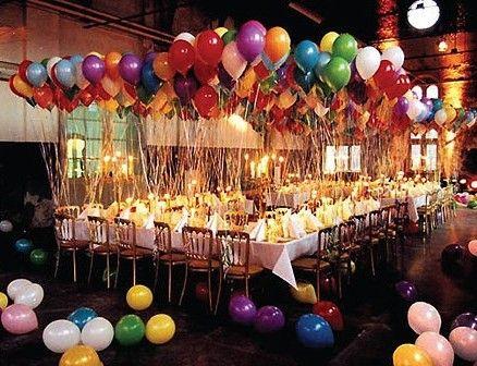 decoracion para fiestas de cumpleaños adultos - Buscar con Google