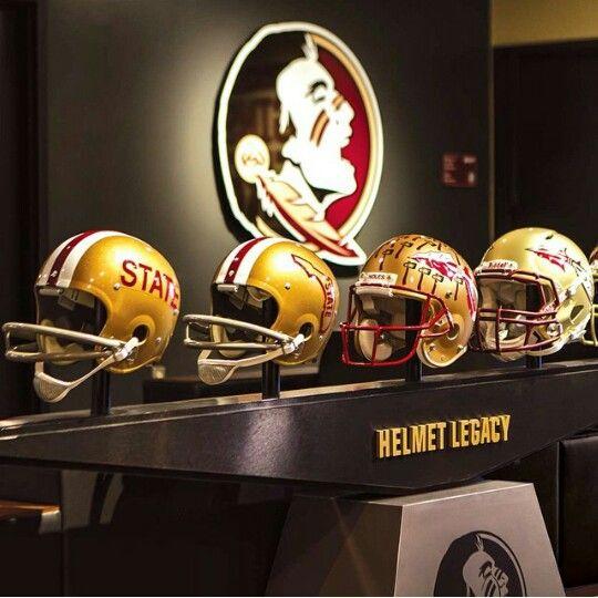Fsu Helmets Through The Years Florida State Football Florida State Florida State Seminoles Football