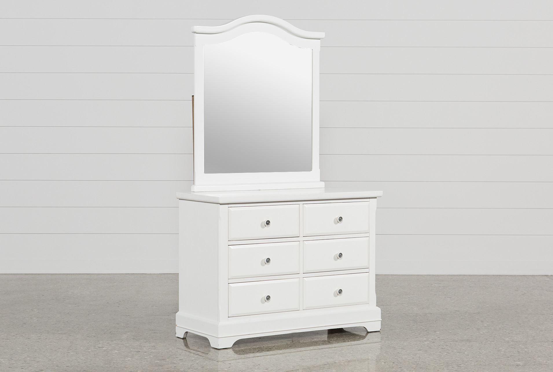 Bayfront Dresser Mirror White Dresser With Mirror White Desk