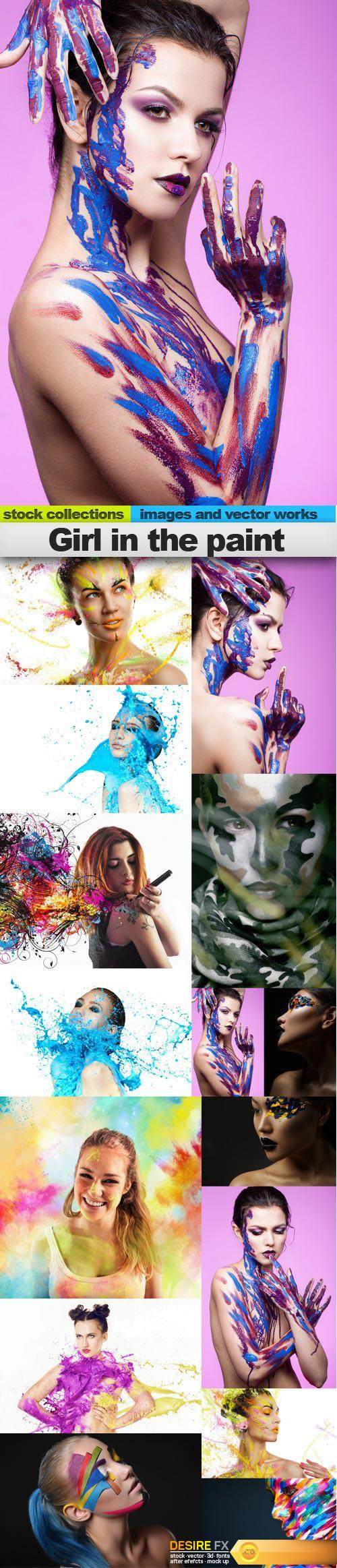 Girl in the paint, 15 x UHQ JPEG  http://www.desirefx.me/girl-in-the-paint-15-x-uhq-jpeg/
