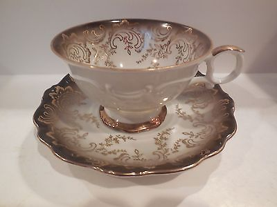 EBERTHAL FOOTED CUP & SAUCER SET MADE IN GERMANY
