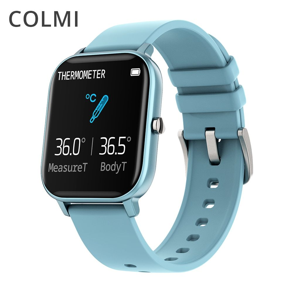 Colmi P8 Pro Smart Watch Temperature Ip67 Waterproof Full Touch Fitness Tracker Heart Rate Monitor Women Men Sma Smart Watch Smartwatch Women Smart Watch Price