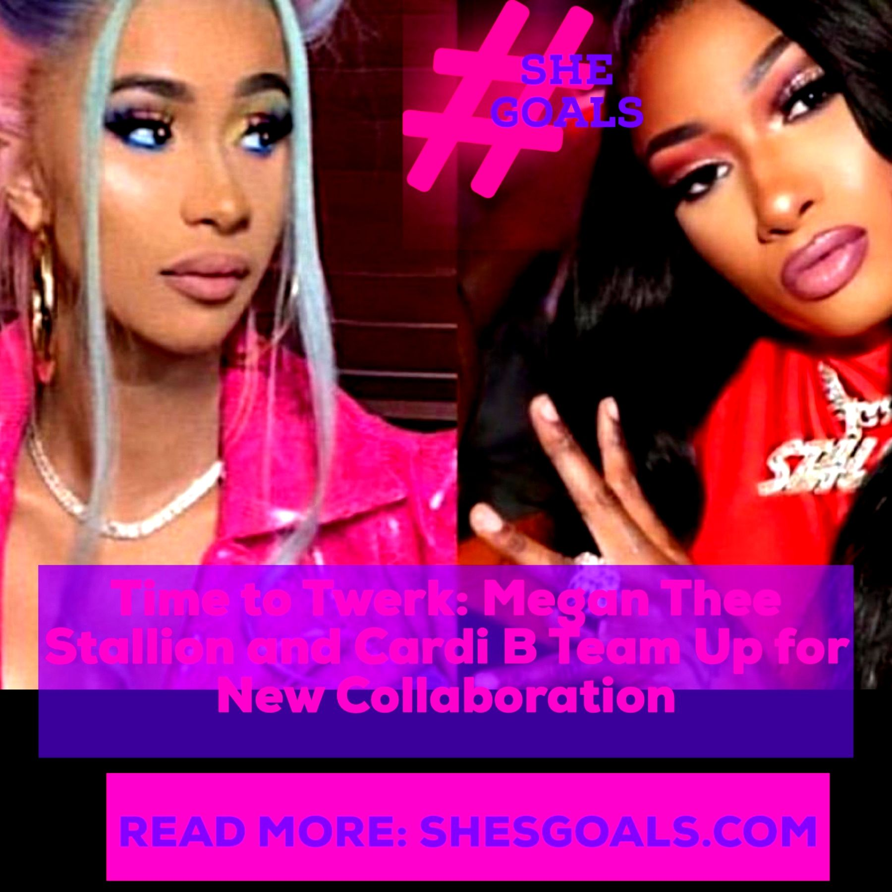 Time To Twerk Megan Thee Stallion And Cardi B Team Up For New Collaboration In 2020 Cardi B Twerk Collaboration
