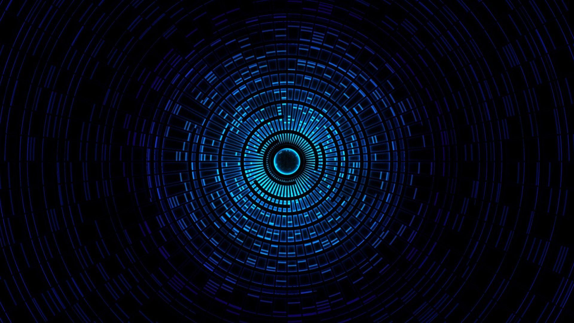 Abstract Digital Blasphemy Lights Tunnels Wallpaper 1793822 Wallbase Cc Black And Blue Wallpaper Dark Blue Wallpaper Blue Abstract